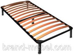 Каркас кровати односпальный с ножками 190*100 см.