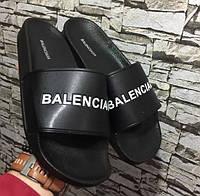 Шлепанцы мужские Balenciaga D3824 черные