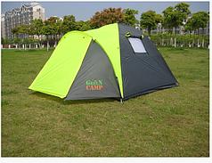 Намет 3-х місний GreenCamp 1011-2, на 2 входи