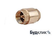 Обратный клапан с латунным штоком 1 дюйм