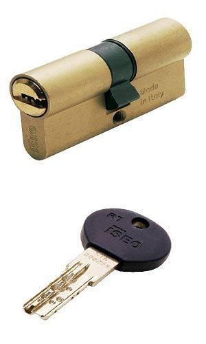 ISEO R7 75 (35х40) ключ-ключ латунь