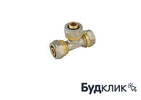 Тройник Для Металлопластиковой Трубы Равный 16Х16Х16