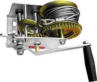 Лебідка шестерна, тяга - 0,8 т, тросові// MTX