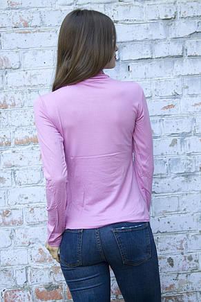 Водолазка розовая , фото 2