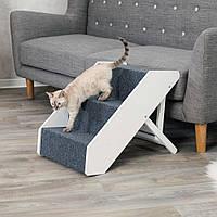 Trixie (Трикси) Steps Складной регулируемый пандус ступеньки для собак и кошек до 40 кг (40 × 67 см), фото 1