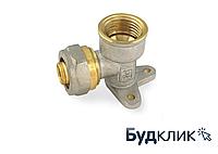 Угол для металлопластиковой трубы монтажный с внутренней резьбой 16х1/2