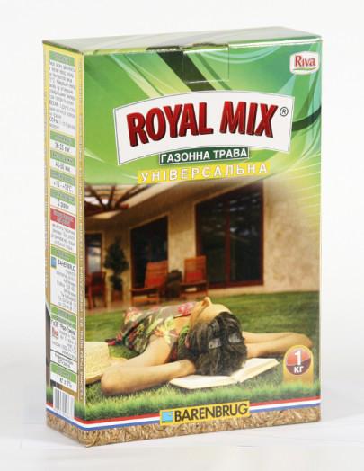 Семена трава газонная универсальная ROYAL MIX 1кг