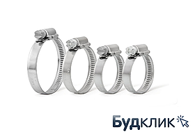 Хомут Червячный 16-25 (Упаковка 50Шт.)