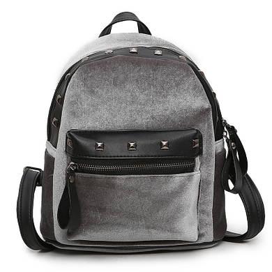 Рюкзак Jesse Velor Gray