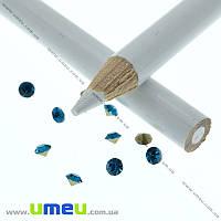 Карандаш для страз белый, 17,5 cм, 1 шт. (INS-010280)