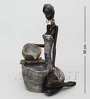 Статуэтка фонтан Африканская женщина 38 см SM-153