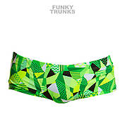 Распродажа! Размер XL. Хлоростойкие мужские плавки Funky Trunks Go Ballistic FT30