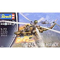 Сборная модель Revell Ударный вертолет MIL Mi-28N HAVOC 1:72 (4944)