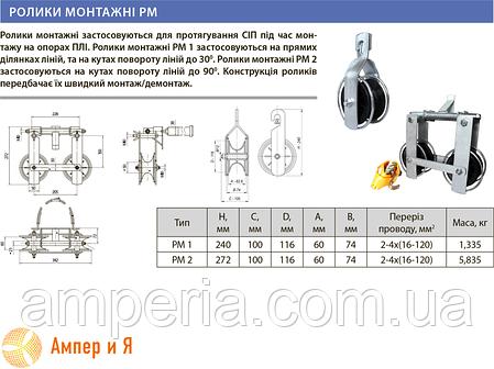 Ролик монтажный РМ 1 ЛИЗО, фото 2