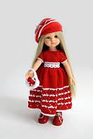 Кукла Рапунцель Paola Reina в красном наряде, 32 см