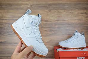 Женские кроссовки Nike Lunar Force, белые, высокие