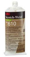 3М™ Scotch-Weld™ DP610- двухкомпонентный прозрачный клей, 50 мл., фото 2