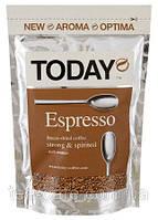 Кофе Today Espresso натуральный сублимированный растворимый 150 гр.