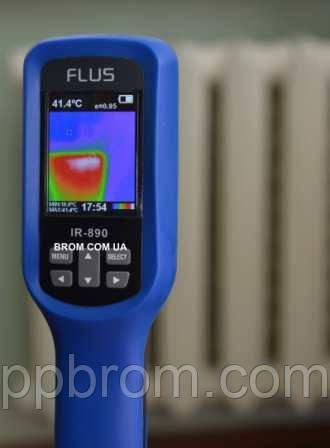бытовой, строительный тепловизор ir-890 flus