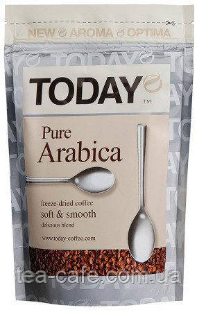 Кава Today Pure Arabica сублімована розчинна 150 гр.