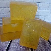 Мыло ручной работы. Мед и облепиха. С натуральным медом., фото 1