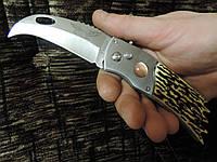 """Нож эксклюзивного дизайна """"Орел керамбит"""". Нож автомат."""
