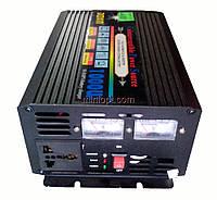 Автомобильный инвертор 12-220В с функциями автозарядки и UPS Doxin DX1000UPS. 1000W