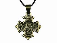 Нательная икона крест Денис