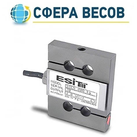 Тензометрический датчик Esit STCS 100 (100 кг), фото 2