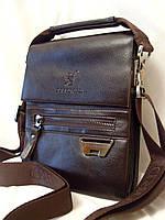 Мужская сумка Bradford 6006-3 коричневая искусственная кожа, фото 1