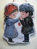 Панно «Влюбленная парочка»