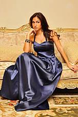 Платье корсет атлас в пол , фото 2