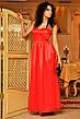 Платье корсет атлас в пол , фото 3