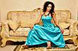 Платье корсет атлас в пол , фото 4