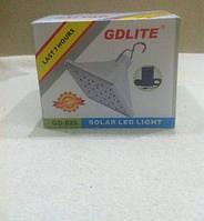 Аккумуляторный светильник Solar Led Light GD-025 на солнечной батарее, фото 1