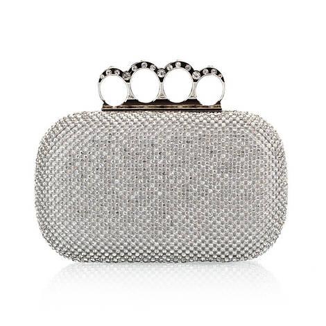 Вечерняя сумка Bluebell Rings Silver
