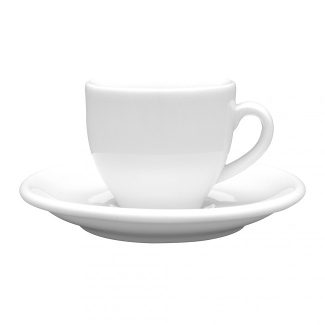 Lubiana Чашка 80 мл с блюдцем 120мм Albergo
