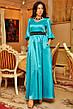 Платье фонарик атлас в пол , фото 3
