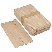 Шпателя деревянные для восковой депиляции 50шт