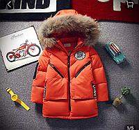 Зимняя детская куртка для мальчиков.