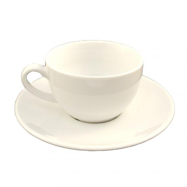 Lubiana Чашка 350мл с блюдцем 185мм Albergo/Jumbo