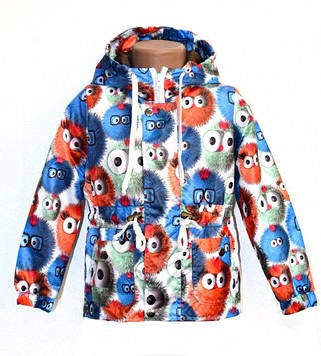 """Куртка для мальчика тонкая демисезонная """"Пушистик"""""""