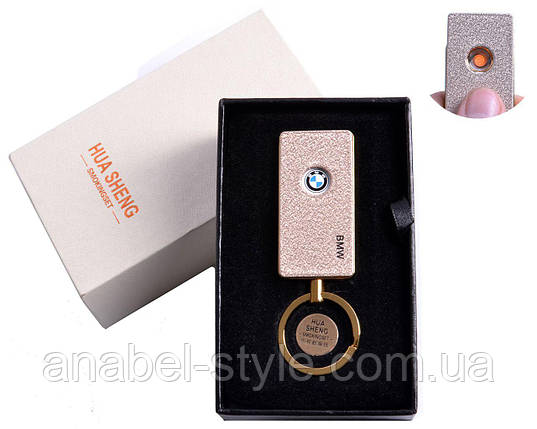 """USB зажигалка в подарочной упаковке """"BMW"""" (спираль накаливания) №4808-4 Код 119470, фото 2"""