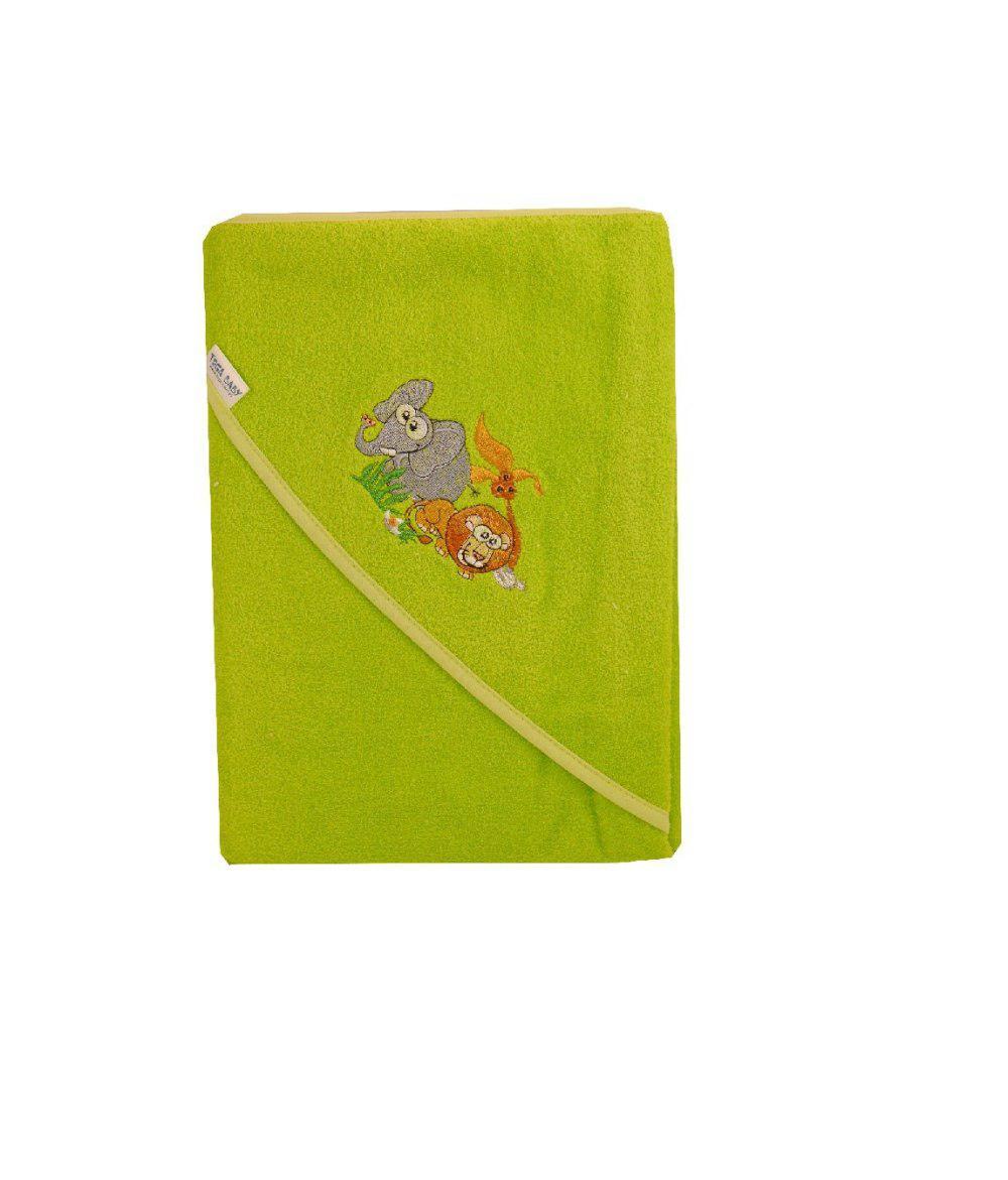 Полотенце Tega 100x100 В Кульке SAFARI зеленый