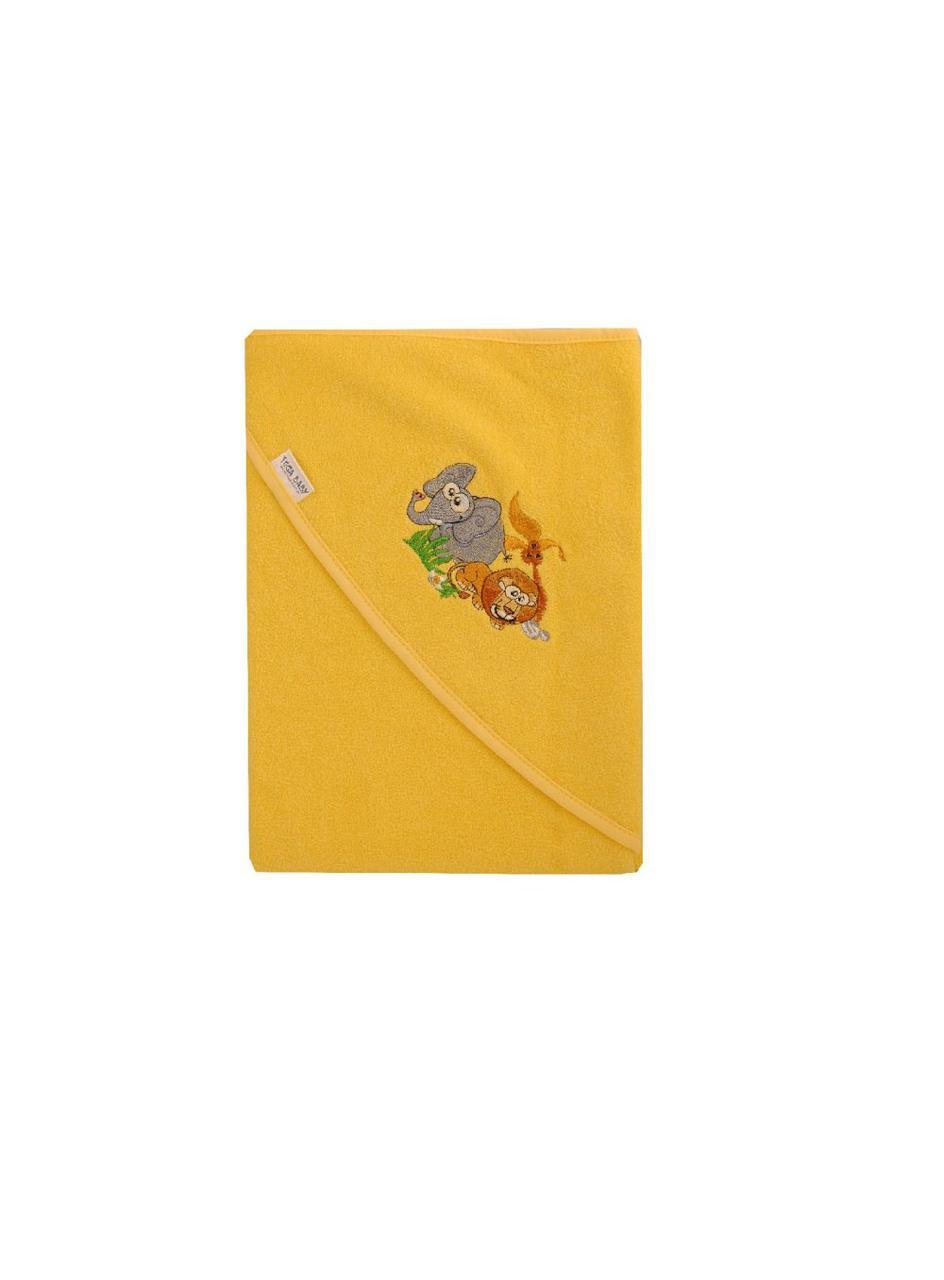 Полотенце Tega 100x100 В Кульке SAFARI желтый