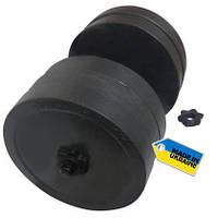 Гантель наборная Newt Rock 30 кг, 1 шт.