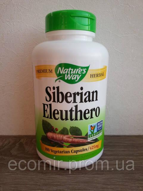Сибирский элеутерококк, Nature's Way (425 мг/180 капсул)
