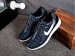 Кроссовки Nike Roshe Run Metric (синие), фото 3