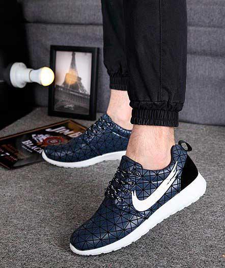 Кроссовки Nike Roshe Run Metric (синие)