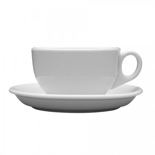 Lubiana Чашка 250 мл с блюдцем 145мм Ameryka